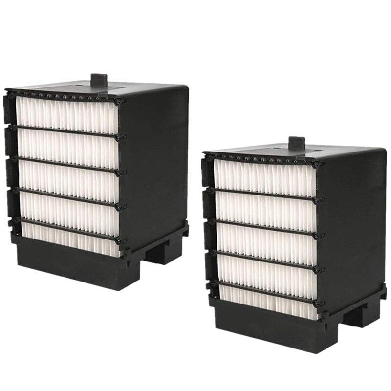 AD-Mini filtro enfriador de aire, filtro de aire acondicionado, filtro de reemplazo del enfriador de espacio Personal, filtro enfriador USB portátil 2 uds