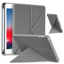 Case for iPad Mini 5th/4th Generation 7.9 Inch, Origami Standing Shell Case with Pencil Holder, Mult