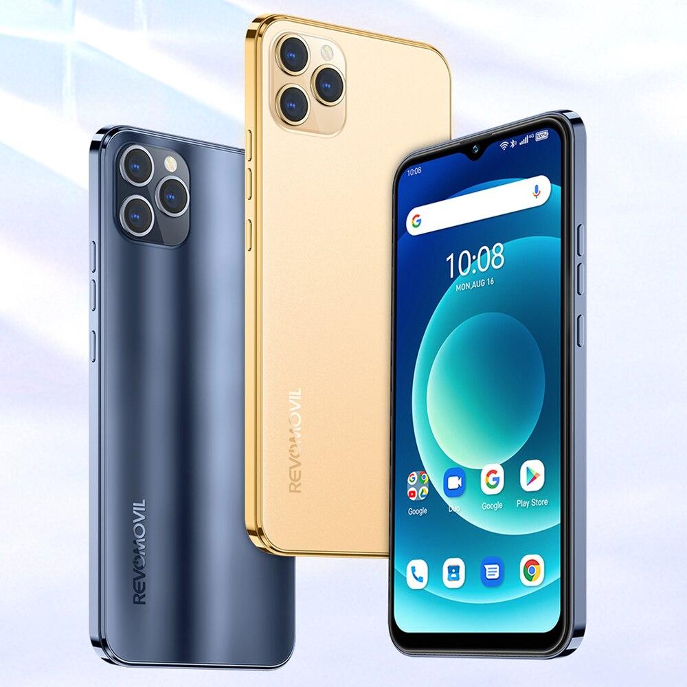 Smart phone телефоны смартфоны Celular Revomovil X12/S21 Cell Phones Global Version