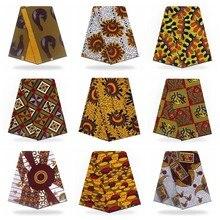 Véritable cire véritable tissus 100% coton Africain Ankara tissu doux pas cher tissus en gros cire impression tissu Pagne Africain