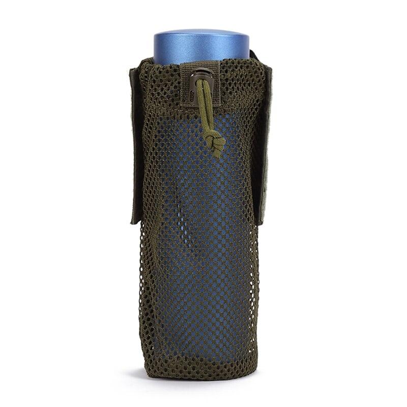 Tático molle garrafa de água bolsa 600d náilon militar cantina capa coldre ao ar livre caminhadas acampamento viagem chaleira saco 0.55l