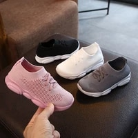 2019 new children shoes baby stretch socks shoes boy baby gril baby non slip shoes sports shoes shoes knit mesh shoes breathable
