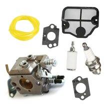 Carburetor Spark Plug Kit Engine Replaces For Husqvarna 36 41 136 Chainsaw Parts