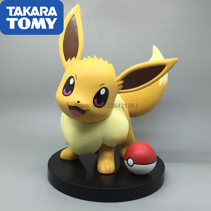 TAKARA TOMY Pokemon Eevee Boneca Action Figure Limited Edition Less Go Coleção