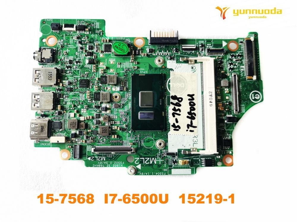 الأصلي لديل 15-7568 اللوحة المحمول 15-7568 I7-6500U 15219-1 اختبار جيد شحن مجاني