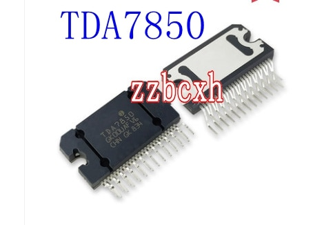 1 unids/lote nuevo original en Stock TDA7850 TDA7850A ZIP-25
