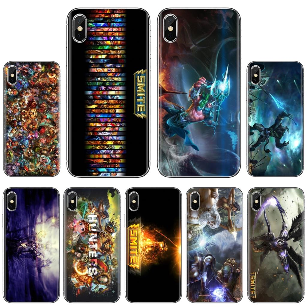 For Samsung Galaxy A3 A5 A7 A9 A8 Star Lite A6 Plus 2018 2015 2016 2017 SMITE All Gods Loki Game Soft TPU Covers