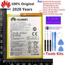 3000mAh Für Huawei P9/Ascend P9 Lite/G9/honor 8/honor 5C/G9 EVA-L09/honor 8 lite/P10 Lite/Nova Lite/Honor 6C Pro/V9 Spielen Batterie