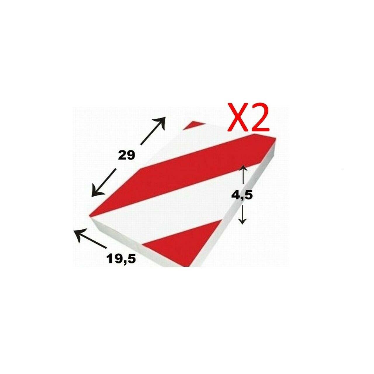 Protector de Pared X 2, Garaje ANTIGOLPES para APARCAR, 29X19,5X4,5