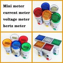 Hertz mètre mini voltmètre ampèremètre indicateur numérique multimètre courant puissance mètre LED indicateur lampe lumière tension mètre