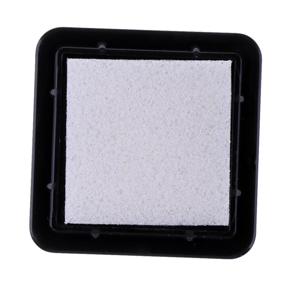 10 Uds. Almohadillas de tinta de importación sin colores para estampar huellas dactilares artesanales de papel de tela DIY