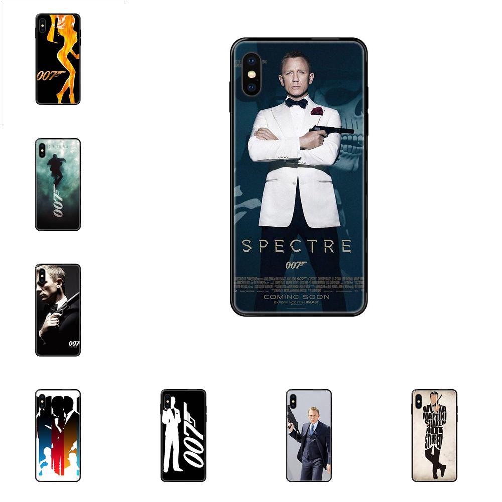 Для Samsung Galaxy Note 4 8 9 10 20 Plus Pro Ultra J6 J7 J8 M30s M80s 2017 2018 чехол для телефона 007 James Bond Spectre Skyfall