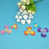 1 large and 1 small exquisite flower metal cutting die paper crafts scrapbooks card albums diy decoration accessories