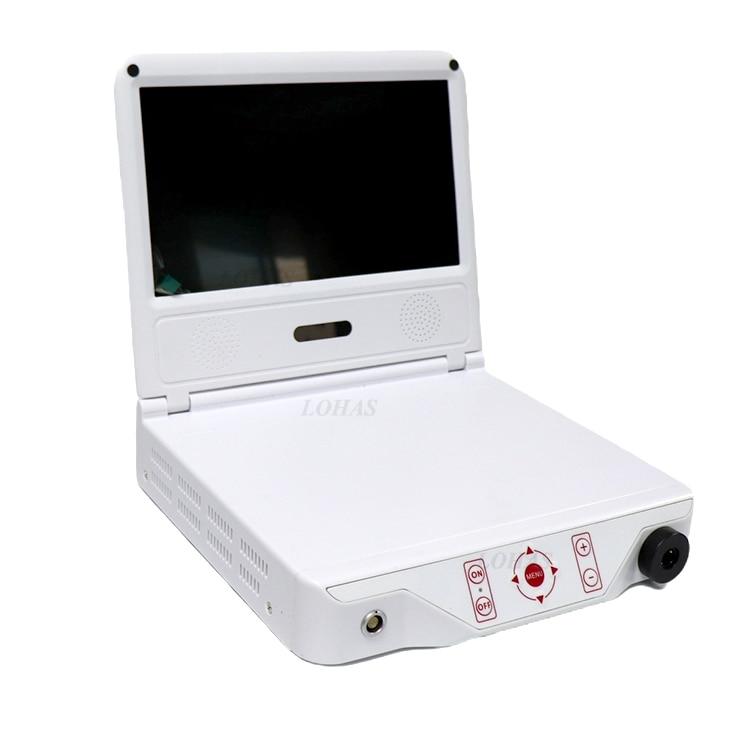 LHGW601 أعلى جودة كاميرا بالمنظار المحمولة مع مصدر مصباح ليد لالطبية الصغيرة كامير فيديو للمنظار الداخلي