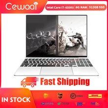 15.6 Inch Laptop Intel Core I7-6500U Nvidia GT940M-2G Metalen Body 8 Gb Ram 512 Gb Ssd Notebook 5G Wifi hdmi Usb 3.0 Type-C Gigabit