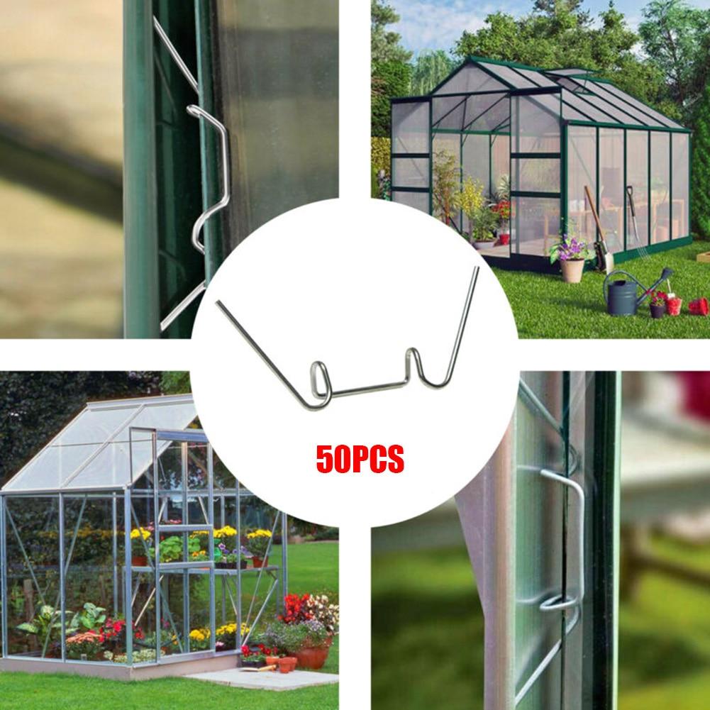 Abrazadera de fijación de marco de vidrio de alambre de cristal de Cramp para invernadero de aluminio 50-500