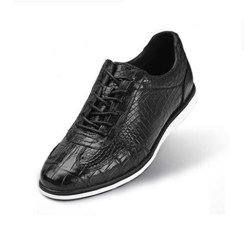 SL-أحذية رجالية غير رسمية في منتصف العمر ، أحذية عمل عالية الجودة ، تمساح ، منتجات جديدة