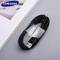 Micro USB кабель 1/1, 5/2 м, оригинальный Samsung 2A Линия синхронизации данных для Galaxy S7 S6 S4 Edge Note 5 4 C9 C7 C5 A10 Pro A6 + шнур зарядного устройства
