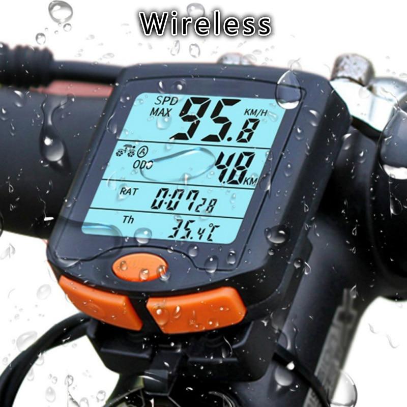 BOGEER, YT-813 para bicicleta, odómetro inalámbrico para ciclismo, velocímetro para bicicleta a prueba de lluvia, soporte para bicicleta MTB, ordenador para bicicleta de carretera
