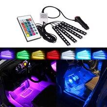 Auto Dekorative Lampe LED Streifen RGB Fernbedienung für Mercedes Benz W212 W124 W210 W212 W203 W204 W205 W639 W169 w246 GLA CLA AMG