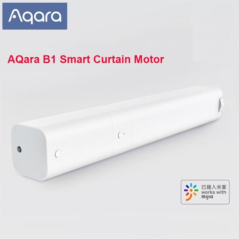 Aqara b1 inteligente cortina elétrica interruptor de sincronismo do motor sem fio motorizado cortina para casa inteligente trabalho com mijia app controle