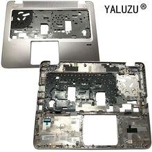 YALUZU nouveau pour HP EliteBook 840 G3 Palmrest cubierta supérieur caso FPR agujero 821173-001 teclado bisel de plata