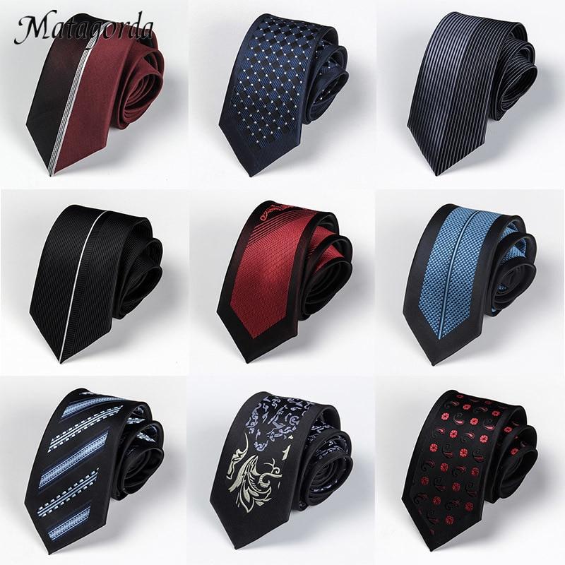 Галстук высокого качества мужской галстук 6 см Узкие галстуки роскошные галстуки галстук ЖАККАРДОВЫЙ галстук праздничные банкетные аксесс...