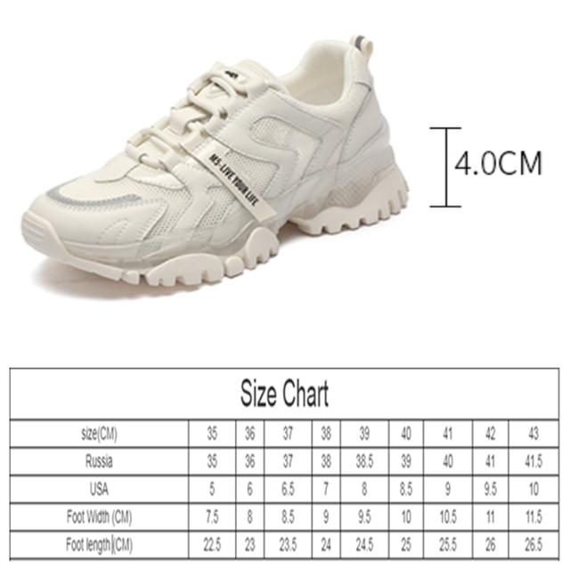 AIYUQI Women's Sneakers 2021 Summer New Single Mesh Platform Casual Shoes Ladies Korean Student Shoes Girl 10