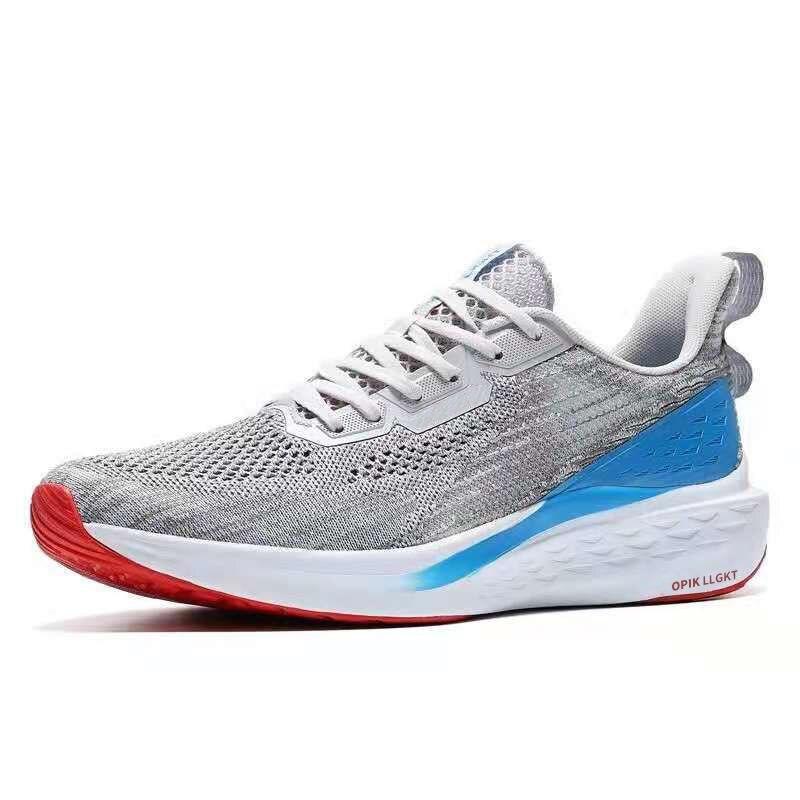 هونغكسينج Erke أحذية رياضية أحذية رجالي الصيف شبكة س اللعب ماراثون احذية الجري احذية الجري للرجال تنفس