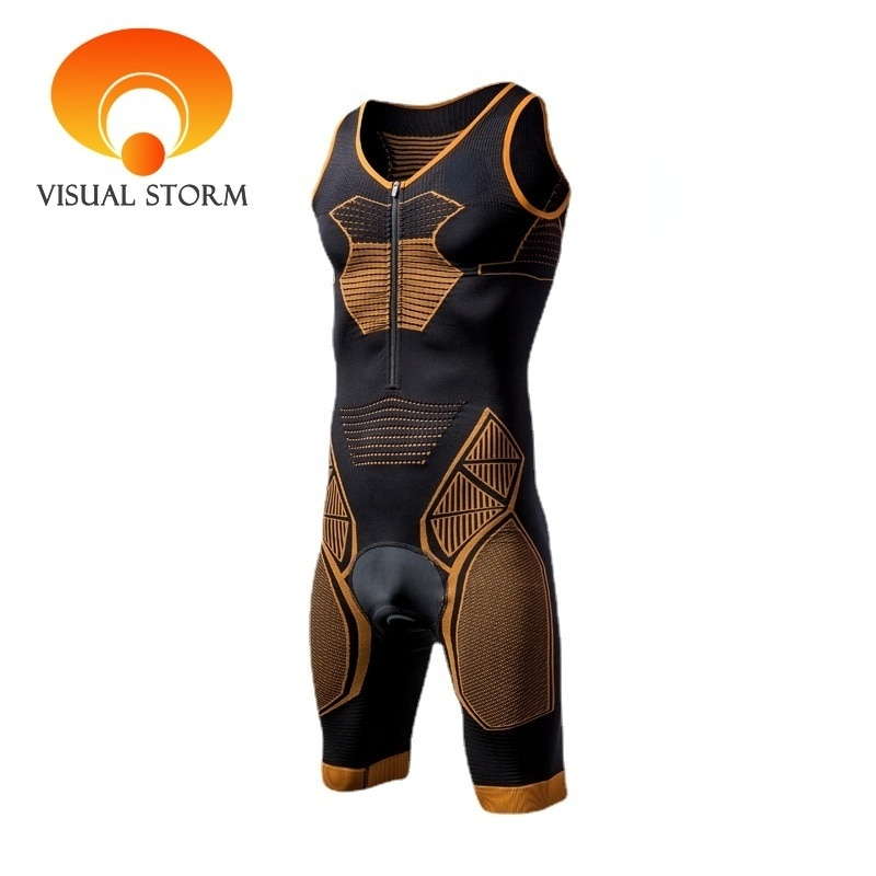 Professional Man Cycling Jumpsuits Breathable Cyclist Jersey Male Compress Shirts Base Layer Bike Winter Cloth Set Sex Bodysuit