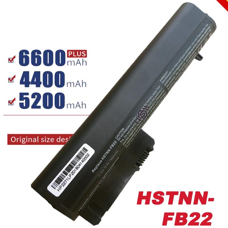 Batería de portátil para HP EliteBook 2530p 2540p, para libreta de negocios 2400 2510p nc2400 441675-001,EH767AA,EH768AA, sin HSTNN-DB22