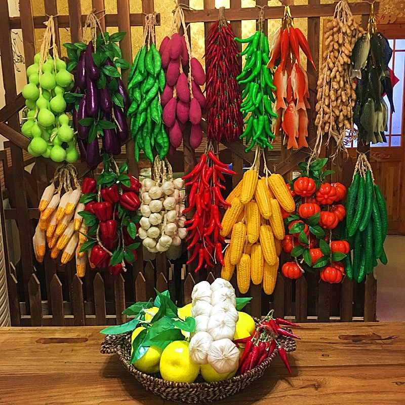 Artificial Simulation Food Vegetables Fake Chili Pepper Fruit Photography Props For Decoration Room