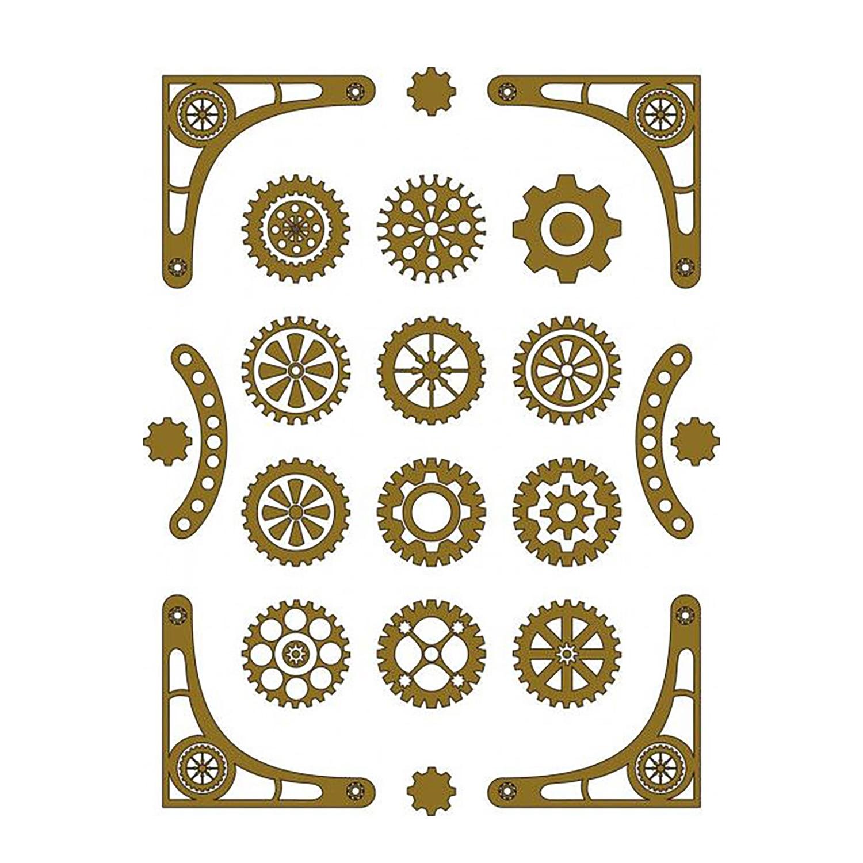 Steampunk Gear Cutting Dies Mechanic Card Making Metal Stencil For DIY Scrapbooking Craft Postcard