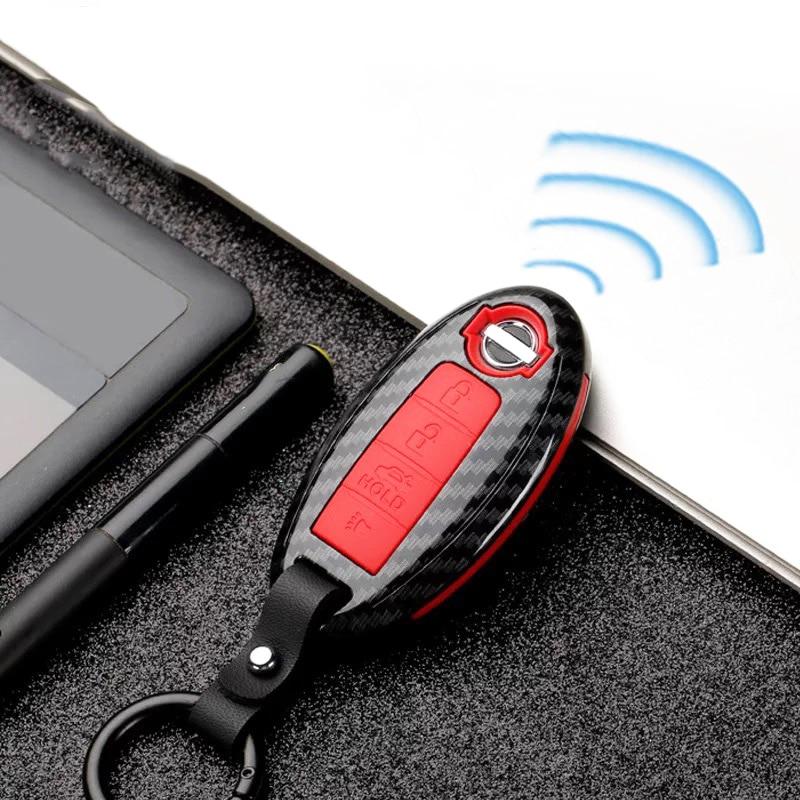 Car Accessories for Nissan juke qashqai t31 t32 x-trail note tiida Teana Pathfinder Murano key bag cover Key Case Shell for car