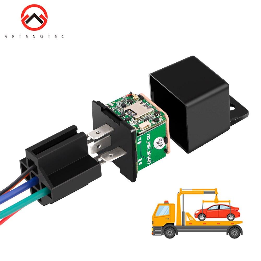 Gps carro mais recente versão mv730 gps rastreamento rastreador relé escondido design cortar choque de combustível acc tow alerta veículo gps mini freeapp