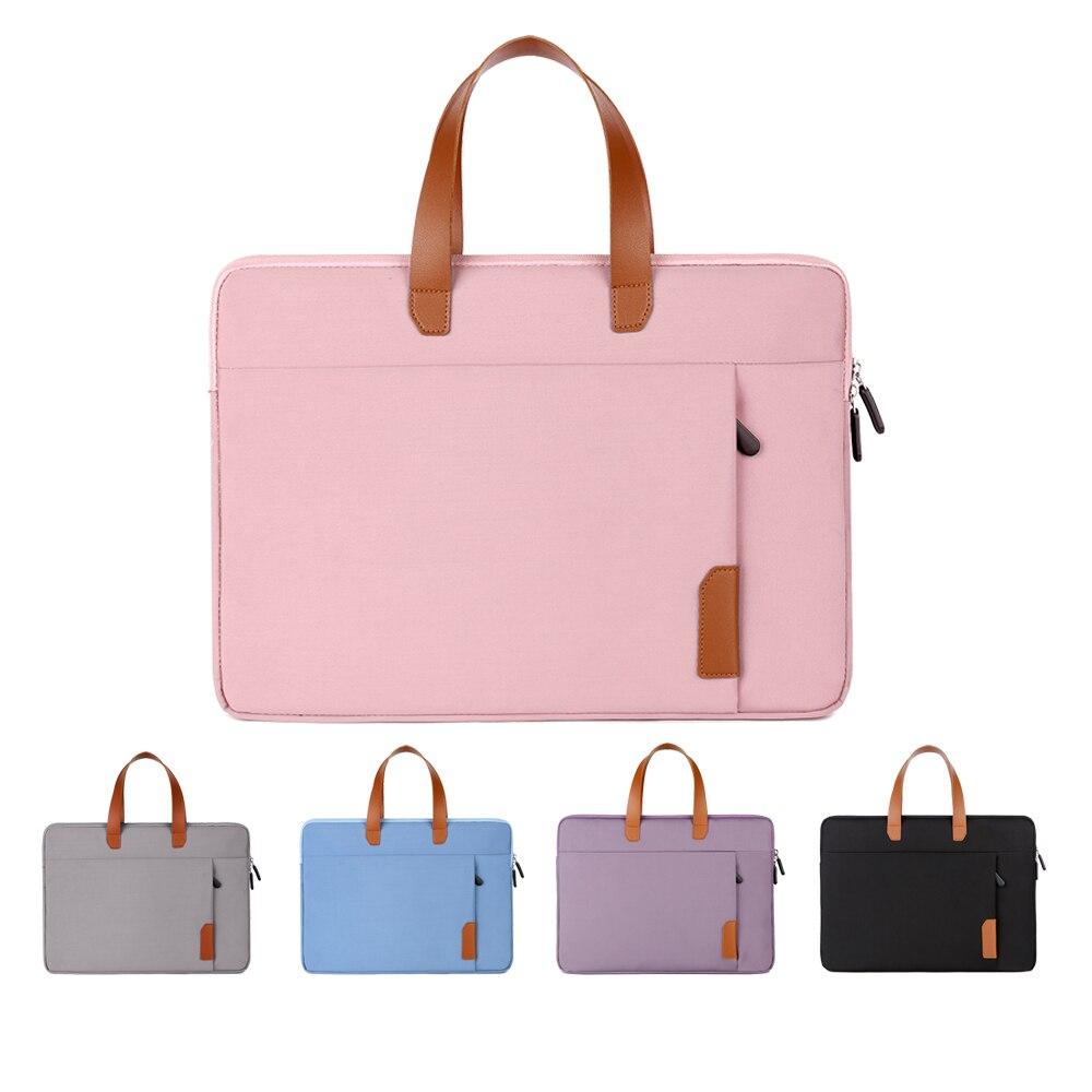 حقيبة لابتوب ل 13 14 15 15.6 بوصة حقيبة كمبيوتر محمول موضة المرأة 2021 حقيبة يد جديدة حقيبة لاب توب