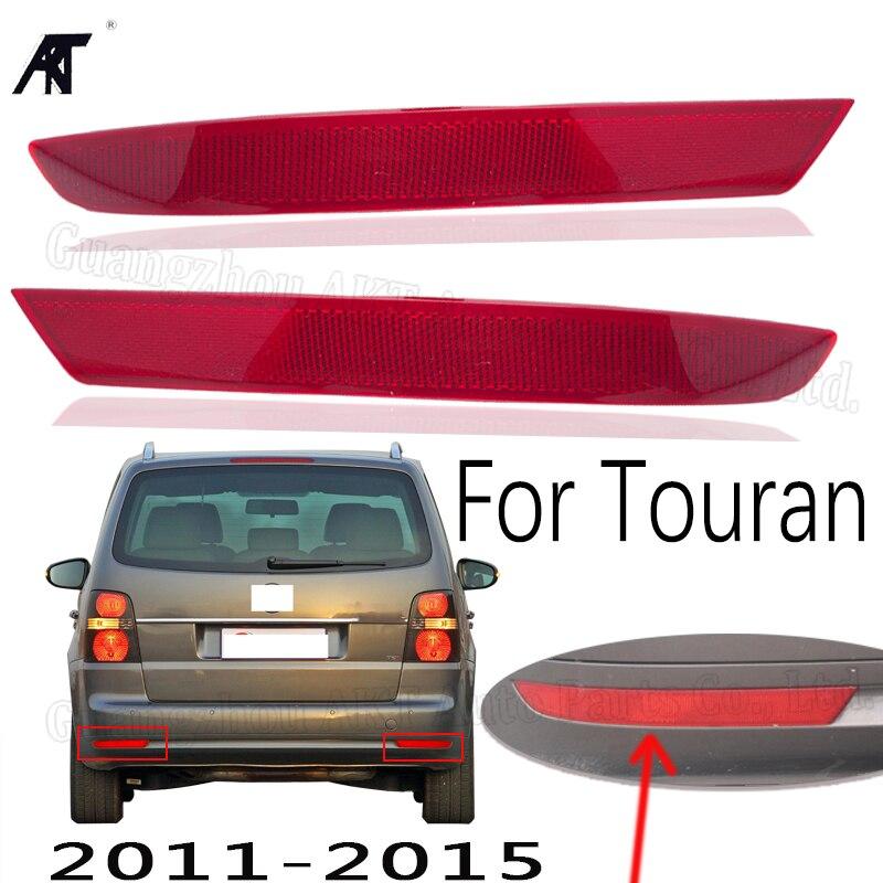 Buena luz de freno trasero para VW Touran 2011 2012 2013 2014 2015 reflector de parachoques trasero luz antiniebla trasera
