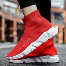 New High Top men trainers mens cozy jogging shoes Breathable sneakers men zapatos hombre Unisex Sock shoe man chaussure homme