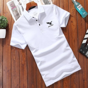 6233-Short-sleeved men's 2021 summer new striped T-shirt cotton round neck short-sleeved youth t-shirt bottoming shirt