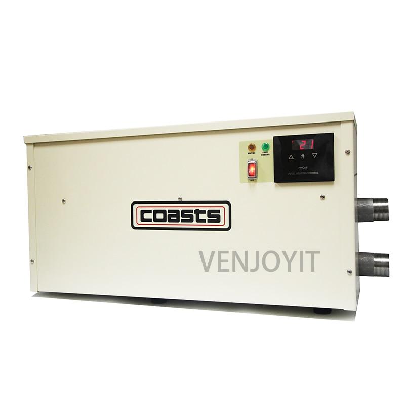 24KW المياه سخان للسباحة بركة و باثتوبي ترموستات 220v/380v PHS-24 العلامة التجارية جديد