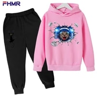 2021 new spring and autumn baby clothes suits for men and women casual hoodies sweaters sweatpants childrens suits