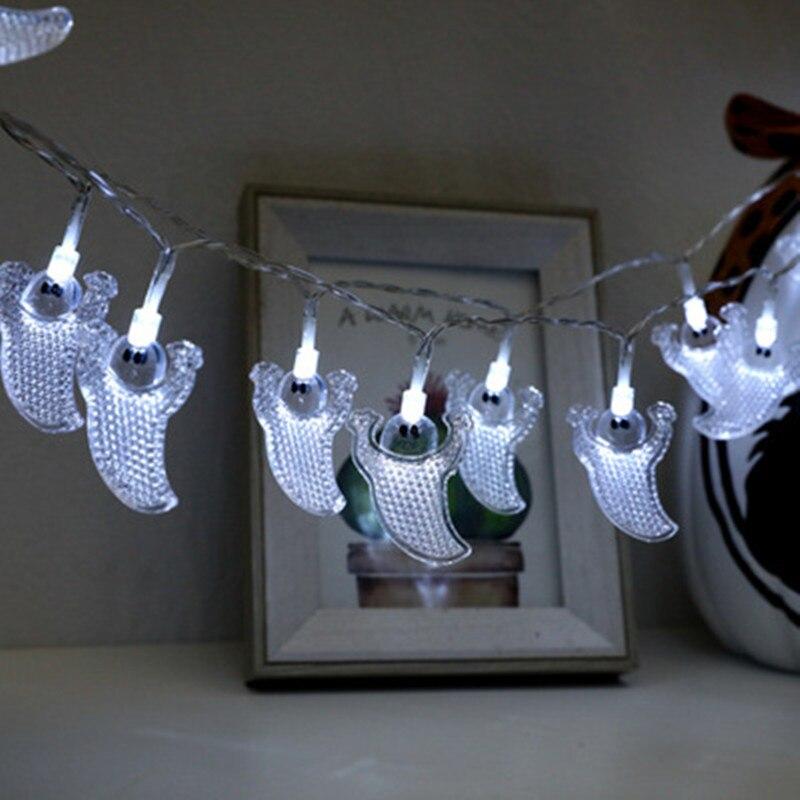 Светодиодный светильник на Хэллоуин декоративный в виде черепа летучей мыши