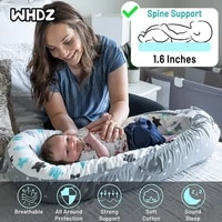 baby lounger newborn sleeping bedsoft and breathable portable for napping and traveling great partner for crib or bassinet
