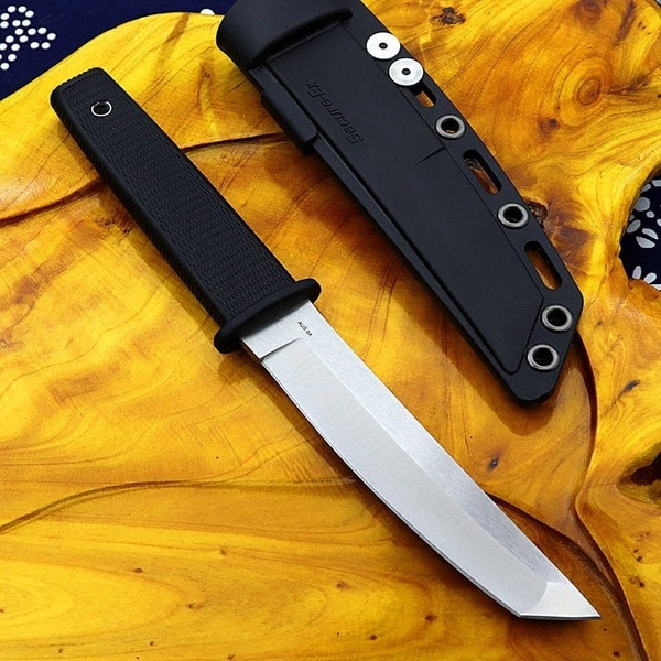Cold Steel High Hardness  Katana Fixed Blade Tactical Hunting Knife Survival Gear Straight Knives 440C Steel Combat Tool