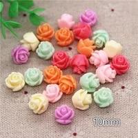 Cabochons en resine a fleurs epaisses  10mm  melange de couleurs  bricolage  artisanat de jardin  Scrapbooking