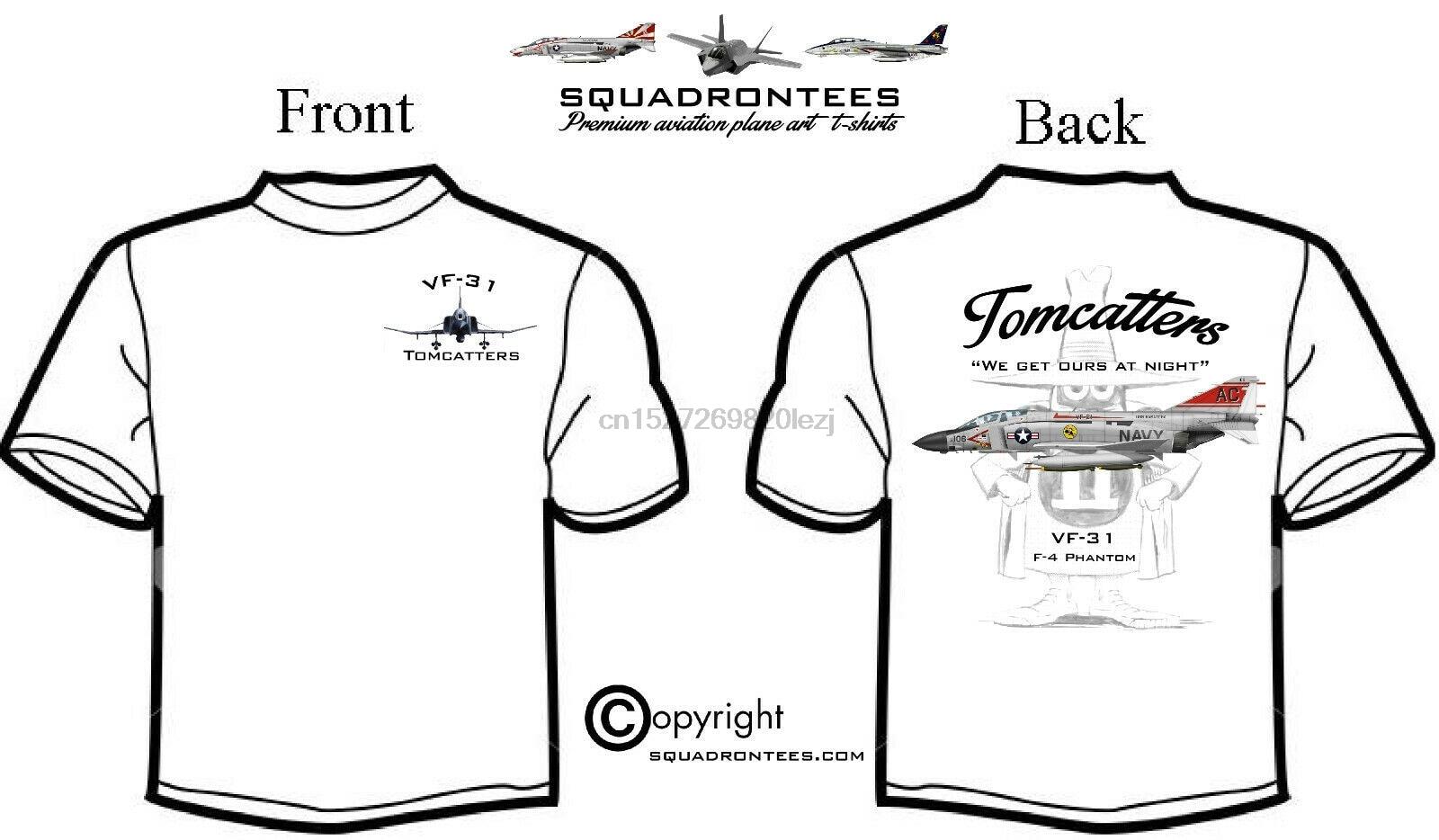 Vf 31 Tomcatters F 4 escuadrón fantasma T camisa Premium arte