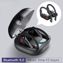 For HBQ Q62 Powerbeats Pro TWS Bluetooth 5.0 Earphone Stereo Wireless Earbuds Waterproof Headset with Charging Box Earphone