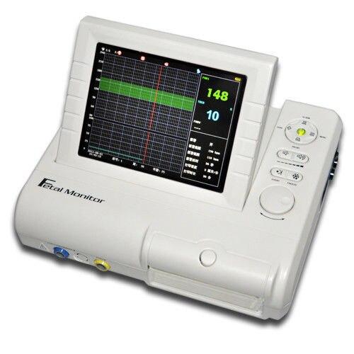 CE CMS800G جهاز مراقبة الجنين FHR توكو حركة الجنين من مصنع CONTEC ، ضمان 2Y