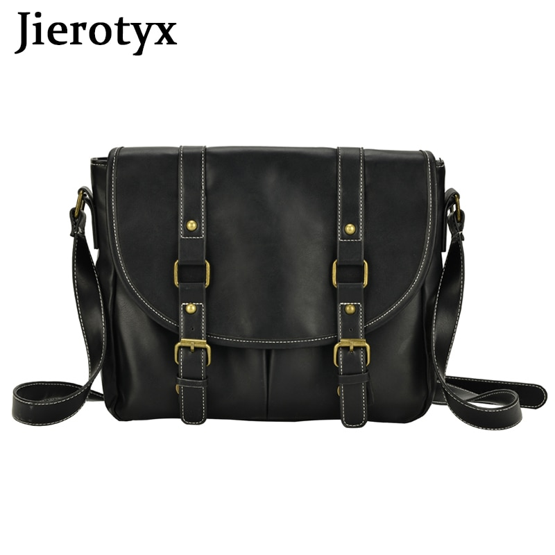 JIEROTYX Hot Sales Women And Men Unisex Crossbody Bags Students School Bags Fashion Solid Ladies Sho