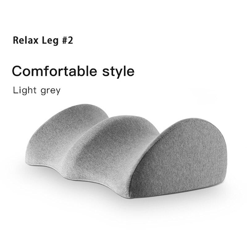 Подушка на коленях для боли в спине обеспечивает облегчение и поддержку сна на боку, подушка для ног из пены с эффектом памяти